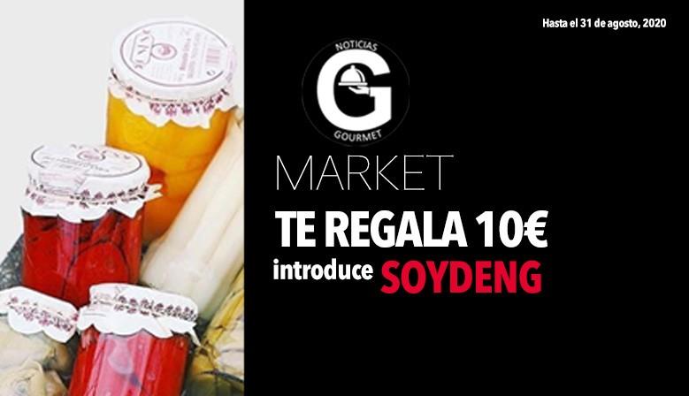Regalo 10€ Soy de Noticias Gourmet